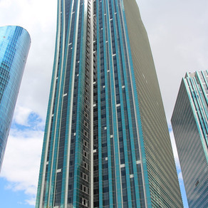 Emerald Towers, the tallest skyscrapers are located in the youngest capital of the world, Nur Sultan