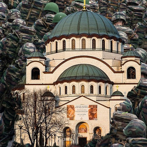 Orthodox Church of Saint Sava in Belgrade used as a tank's parking in WW2 |Read to learn more
