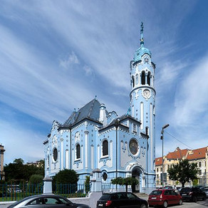 Blue Church | Visit Bratislava