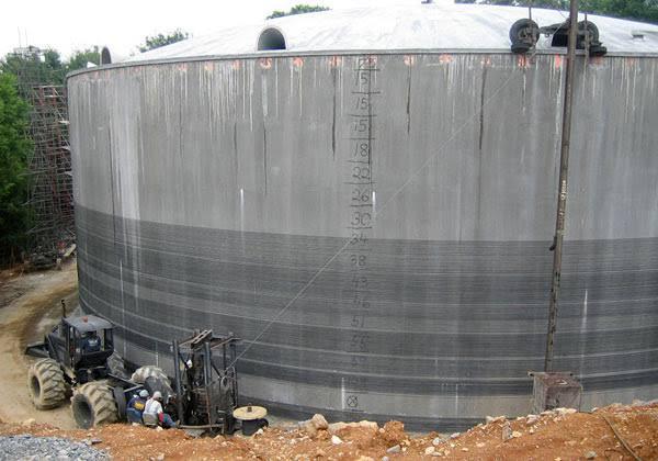 Concrete Water Tank