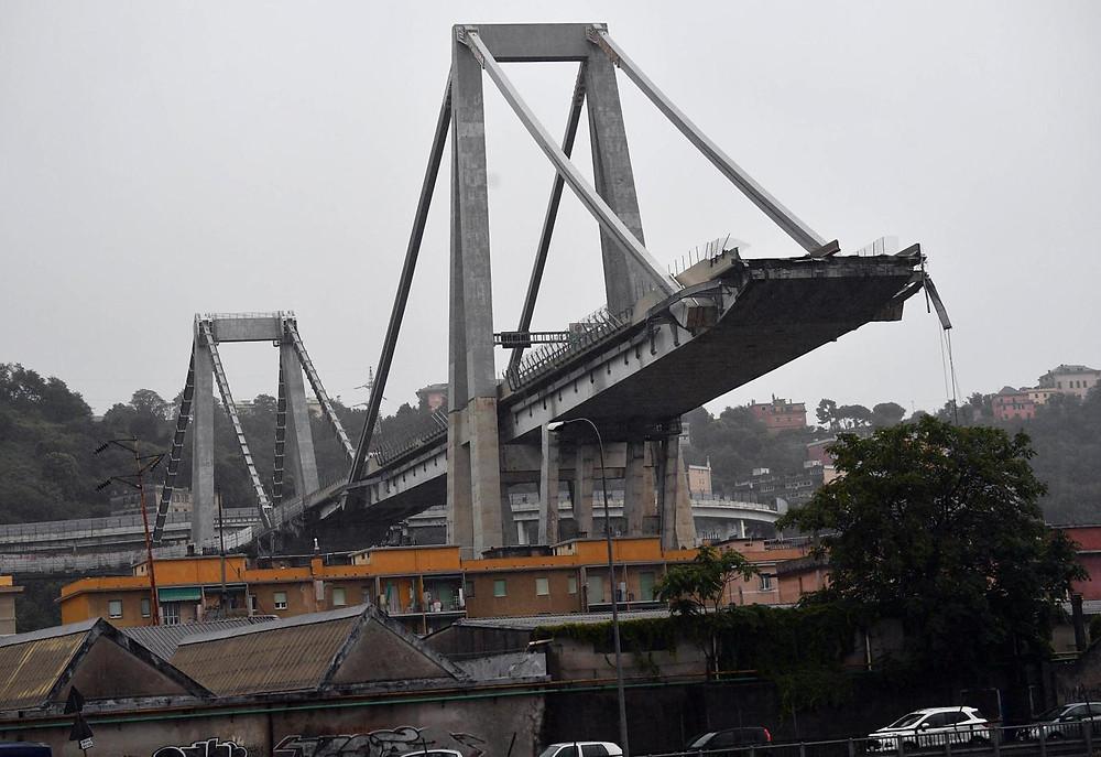 Morandi Bridge collapsed