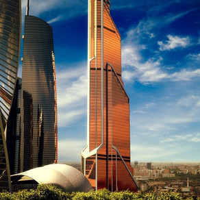 The 1 billion dollar Mercury City Tower in Moscow