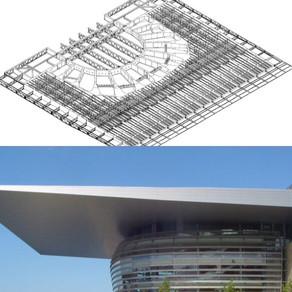 The Complexity of the Copenhagen Opera House roof |Finite Element Analysis using LUSAS