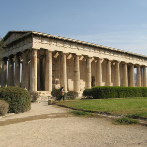 Historical and Architectural Facts of Temple of Hephaestus, Athens