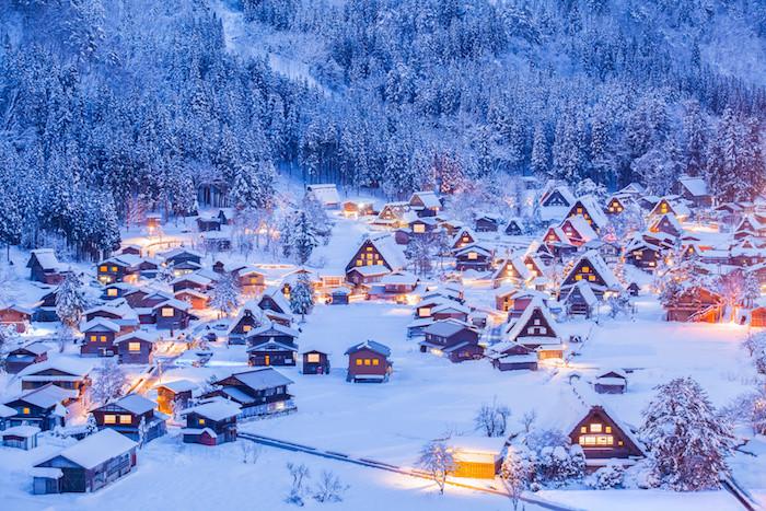 Minka Houses in winter - Vernacular Architecture - MINKA HOUSE JAPAN