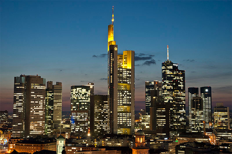 Commerzbank Tower World First Ecological High Rise
