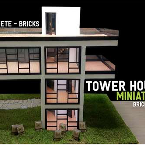 The Art of Scale in Construction: A Miniature House