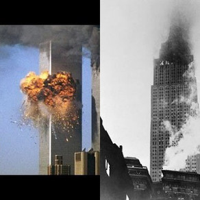 The Empire State Building was hit by an aeroplane and survived; why not the World Trade Centre?