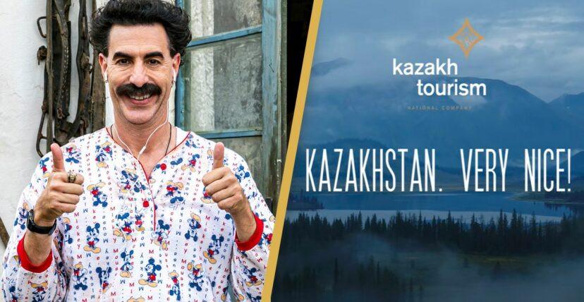 Borat Kazahstan tourism campaign