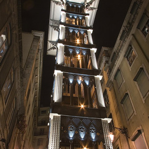 Santa Justa Lift in Lisbon inspired by Eiffel | Structures Insider