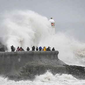 BREAKING NEWS: Storm Dennis - The UK Flood defence is found insufficient to protect the coast.