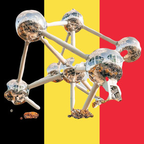Atomium: See the biggest crystal atoms in the World| Located only in Brussels