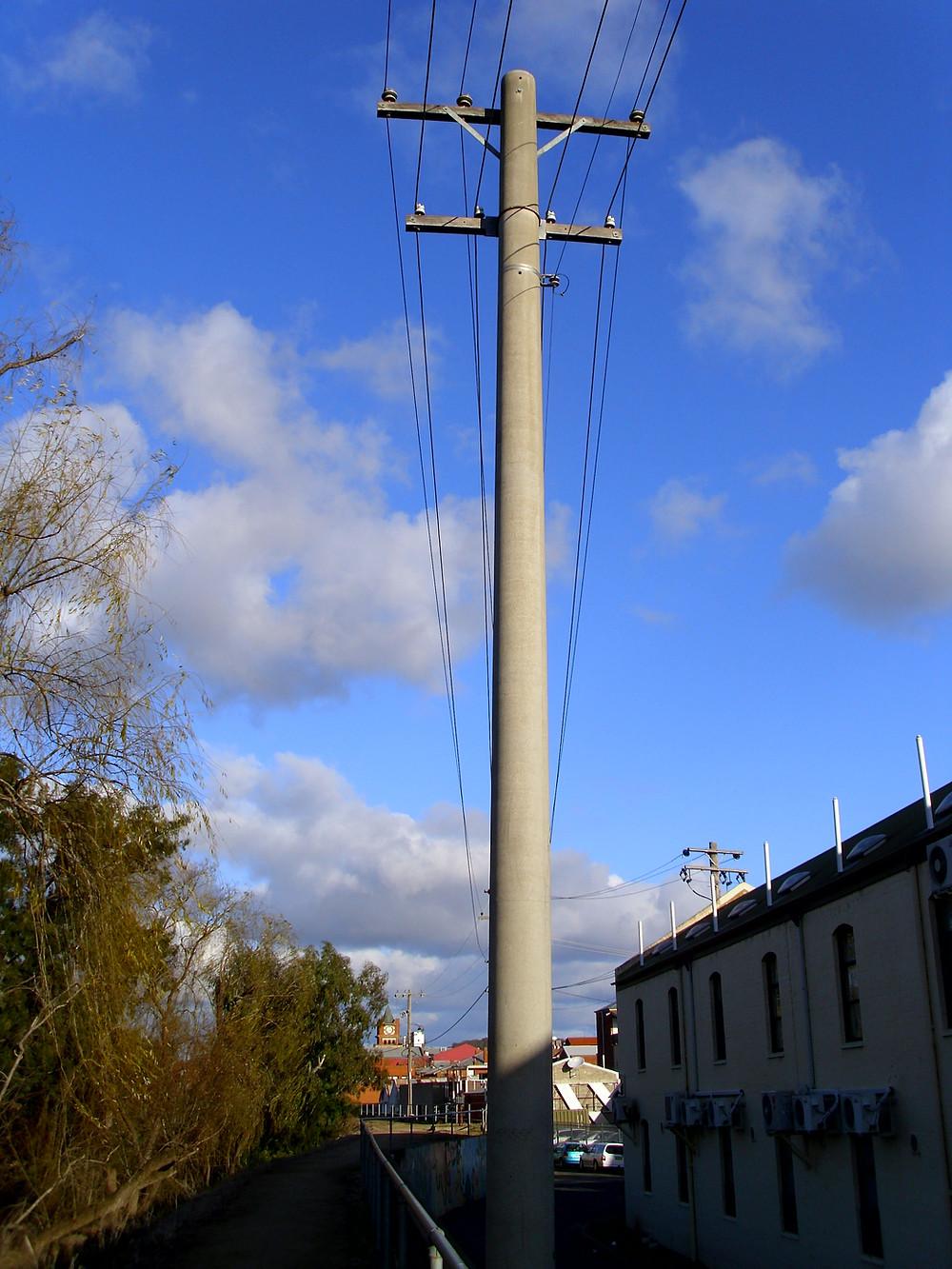 Concrete Transmission Pole