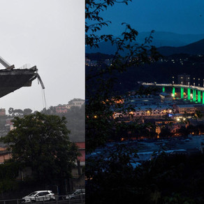 New Genoa bridge built in a record time of only 15 months after the fatal collapse in 2018