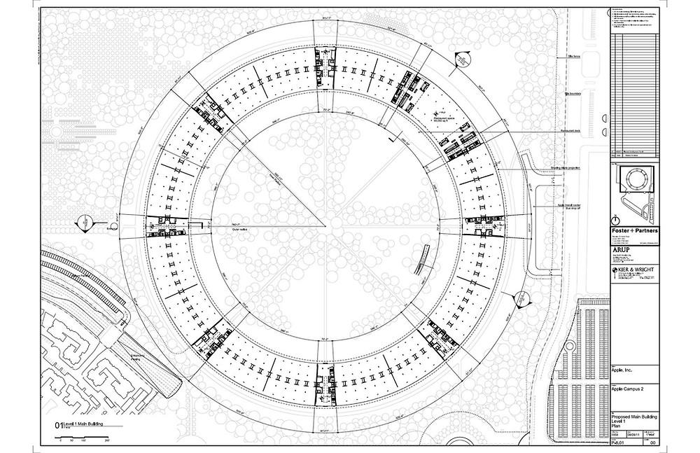 Apple Park Sketch