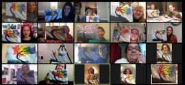 zoom virtual paint party