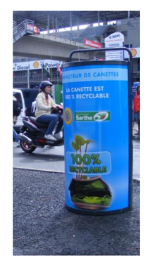 JE RECYCLE, TU RECYCLES, NOUS RECYCLONS !‏