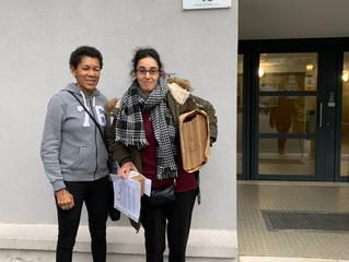 Rachida fait le choix du bénévolat en action ENIDF