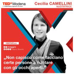 cecilia camellini tedx modena social