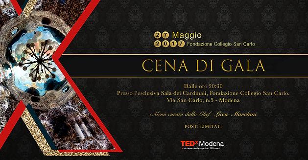 tedx modena bianco creative studio design cena gala