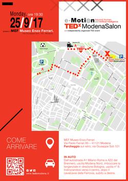 TEDx Modena Salon