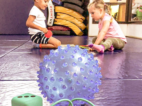 Mindful movement class for toddlers