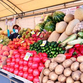 Fresh fruits and veggies for a fair price