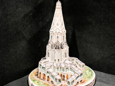 Kustodia - porcelain copies of Moscow buildings