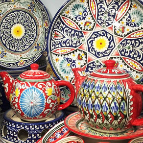 Uzbekistan ceramics - 15% discount