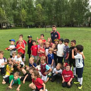 Kids soccertraining&camps - English