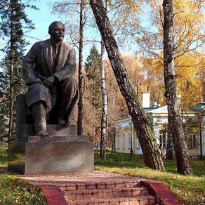 Tour of Gorki - Lenin's last place  of residence