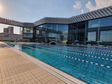 Aquatoria ZIL - an outdoor pool with no crowds