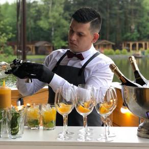 Hire a bartender - @ home