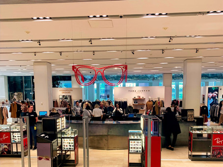 Tsvetnoy mall - shopping & food