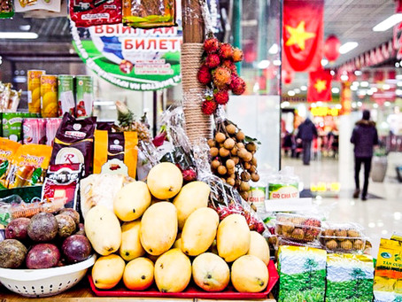 Exotic fruits, sauces, and tea from Vietnam