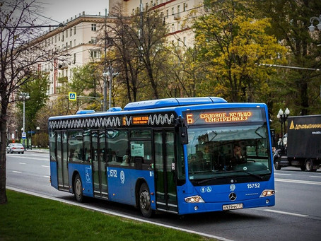 How to get around Moscow by bus?