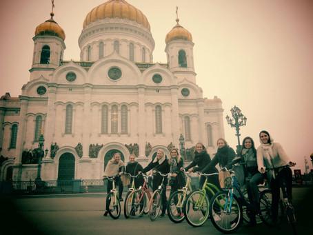 Moscow Bike Tours - #1 tourist activity