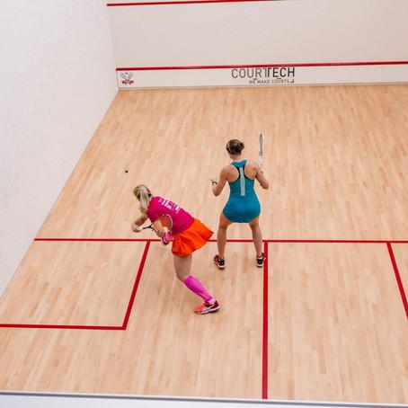 Play squash and badminton - Squash Club Moskva