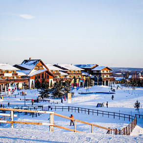 Best ski areas - in & around Moscow