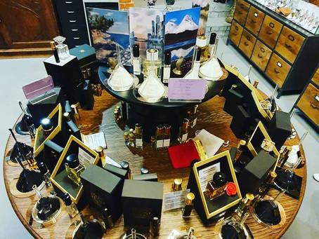 A visit to a niche perfume lab