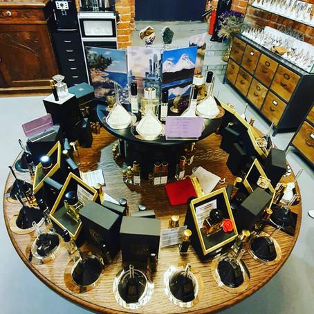 A fragrance artist's studio visit