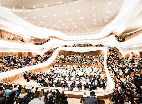 Zaryadye Concert Hall - modern beauty