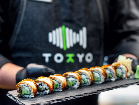 Tokyo - great sushi place