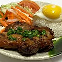 C6. Com Ga Nuong Opla (Grilled Chicken and Fried Egg)