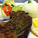 C5. Com Suon Nuong Opla (Grilled Pork Chops and Fried Egg)