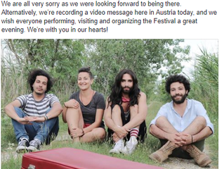 Conchita withdraws from the Edinburgh Festival!