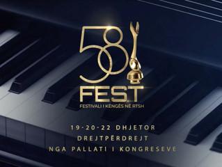 Albania | Festivali i Këngës 58 finalists have been revealed