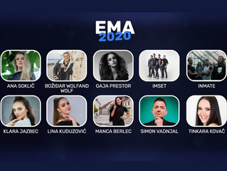 Slovenia | EMA 2020 finalists have been revealed