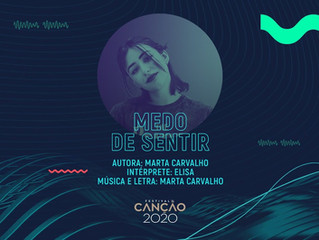 "Eurovision 2020 | Elisa will sing ""Medo de Sentir"" for Portugal"
