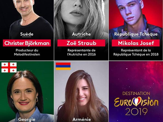 France | Destination Eurovision Semi Final 2 Jurors Revealed
